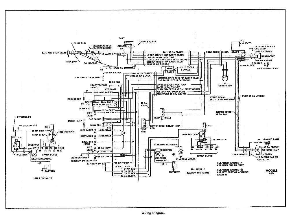 1951 chevy wiring diagram wiring diagram acerbis headlight wire diagram