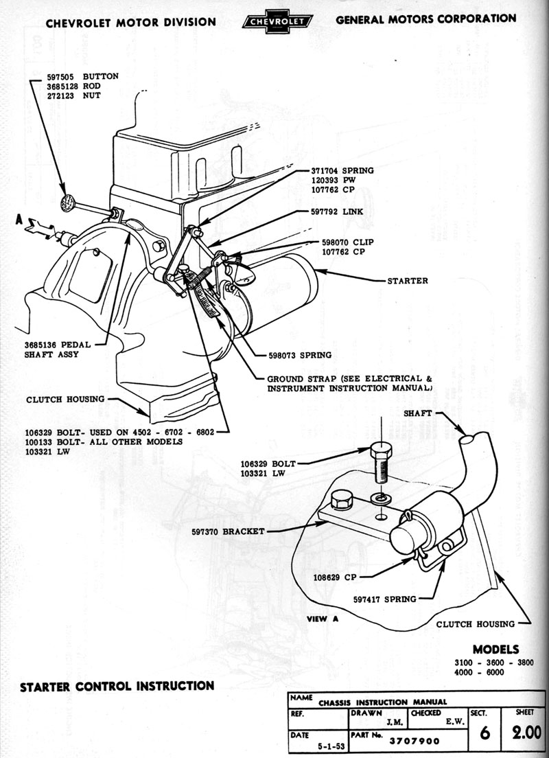 55 chevy pickup wiring diagram  | 800 x 1104