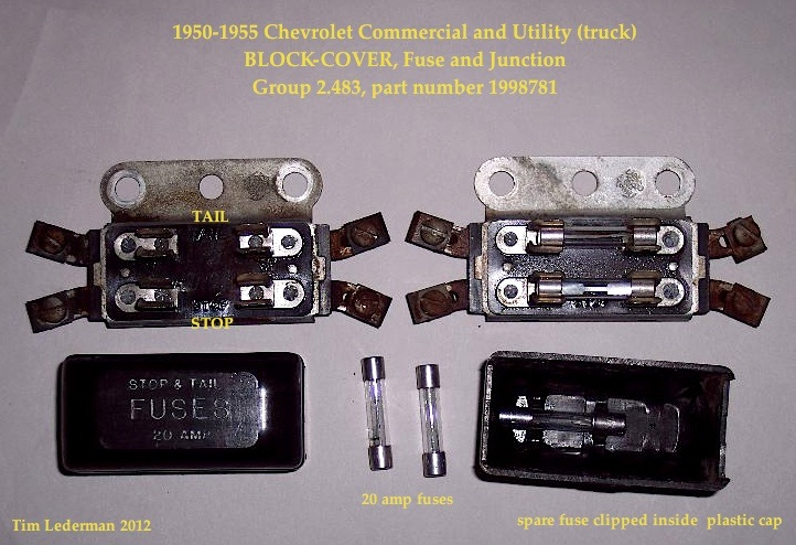 Fuse block ground the stovebolt forums