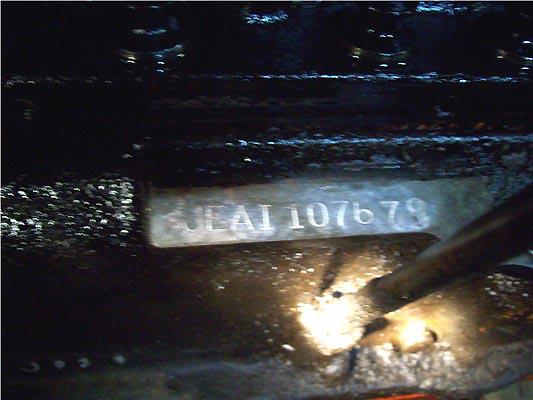 stovebolt codes - 261